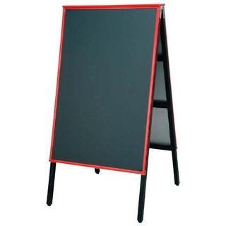 【まとめ買い10個セット品】 【業務用】A型黒板アカエ AKAE-745 チョークブラック 【 メーカー直送/代金引換決済不可 】