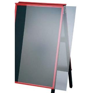 【まとめ買い10個セット品】 【業務用】A型黒板アカエ AKAE-906AKU用透明アクリルカバー 【 メーカー直送/代金引換決済不可 】