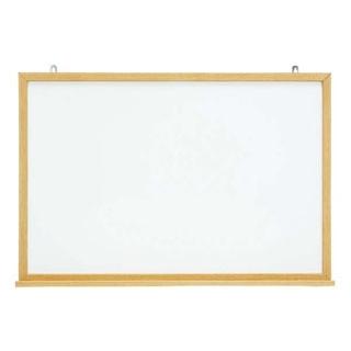 【まとめ買い10個セット品】 【業務用】木目スチールホワイトボード MOKU-F912 【20P05Dec15】
