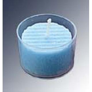 【まとめ買い10個セット品】カップ入 カラーキャンドル(24個入)BL ブルー【 卓上小物 】 【ECJ】