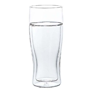 【まとめ買い10個セット品】ハリオ ツインビアグラス TBG-380【 グラス・酒器 】 【ECJ】