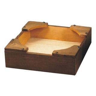 【まとめ買い10個セット品】 【業務用】焼杉 ビビンバ 箱台 大