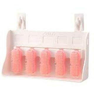 【まとめ買い10個セット品】 【業務用】アルボース ハンドブラシ 5ヶ入 ピンク
