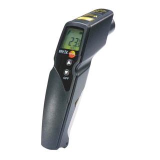 【まとめ買い10個セット品】テストー 赤外放射温度計(レーザー付)testo830-T2【 温度計 】 【ECJ】