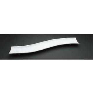 【まとめ買い10個セット品】 【業務用】アルセラム 白変形 変形ロングプレート EC12-46