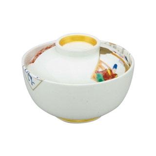 【まとめ買い10個セット品】 【業務用】アルセラム強化食器 かるた絵丸蓋物 EC3-48