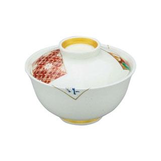 【まとめ買い10個セット品】 【業務用】アルセラム強化食器 かるた絵反蓋物 EC3-49