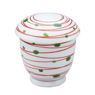 【まとめ買い10個セット品】 【業務用】アルセラム強化食器 赤渦むし碗 EC4-76