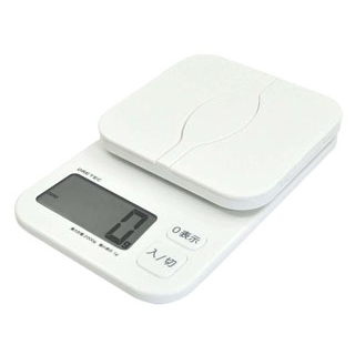 【まとめ買い10個セット品】 【業務用】デジタルスケール パカット 2kg KS-257WT