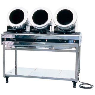 【業務用】ロータリーシェフ スタンド型 RC-3 ガス式 LP【 メーカー直送/代金引換決済不可 】