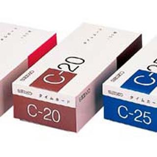 【まとめ買い10個セット品】セイコー タイムカード(100枚入)CA-C20【 店舗備品・防災用品 】 【ECJ】