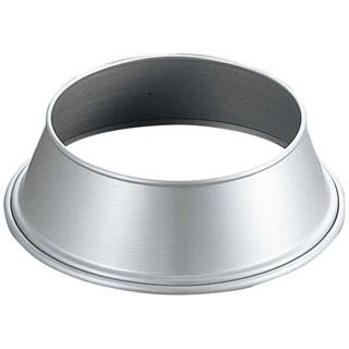 【まとめ買い10個セット品】 【業務用】アルミ 丸皿枠 9インチ用