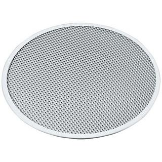 【まとめ買い10個セット品】 【業務用】アルミ ピザ焼網 硬質アルマイト加工 7インチ