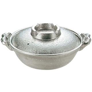【まとめ買い10個セット品】アルミ 白仕上 寄せ鍋 30cm【 卓上鍋・焼物用品 】 【ECJ】