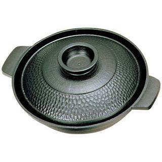 【まとめ買い10個セット品】 【業務用】アルミ 槌目入 寄せ鍋 18cm