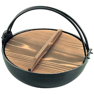 【まとめ買い10個セット品】 【業務用】アルミ 電磁 いろり鍋 30cm 【20P05Dec15】