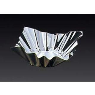 【まとめ買い10個セット品】 【業務用】アルミ箔鍋 金/銀(200枚入)6号(80045)