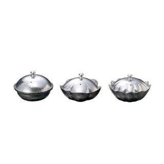 【まとめ買い10個セット品】 【業務用】しぐれ鍋 小菊 蓋付 M11-040