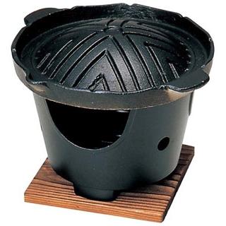 【まとめ買い10個セット品】 【業務用】アルミ ジンギスカン鍋セット