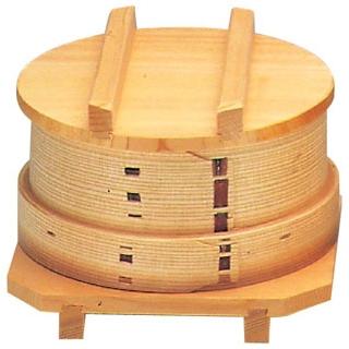 【まとめ買い10個セット品】 【業務用】杉 ワッパセイロセット 12cm(76010)