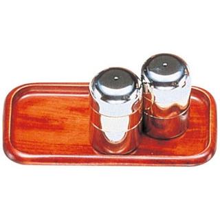 【まとめ買い10個セット品】木製 カスタートレー(さくら ウレタン塗装)SB-606 中【 卓上小物 】 【ECJ】