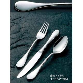 【まとめ買い10個セット品】18-8 ルナ デザートナイフ(H・H)ノコ刃付【 カトラリー・箸 】 【ECJ】