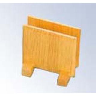 【まとめ買い10個セット品】メニューブック立て W-702 木製 100×75×H100【 メニュー・卓上サイン 】 【ECJ】