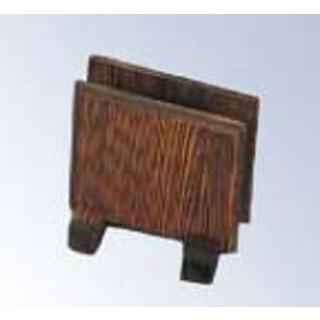 【まとめ買い10個セット品】メニューブック立て N-705 木製 100×75×H100【 メニュー・卓上サイン 】 【ECJ】