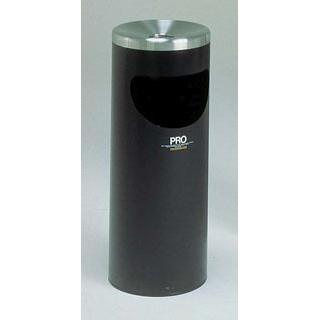 プロコスモス スモーキングスタンド(屑入付)黒 L SS2651206【 店舗備品・インテリア 】 【ECJ】