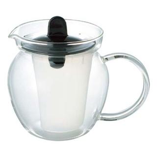 【まとめ買い10個セット品】イワキ お茶ポット(ブラック)K853T-BK【 カフェ・サービス用品・トレー 】 【ECJ】