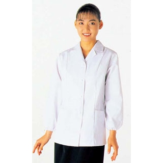 【まとめ買い10個セット品】 【業務用】女性用コート(調理服)AA335-4 7号