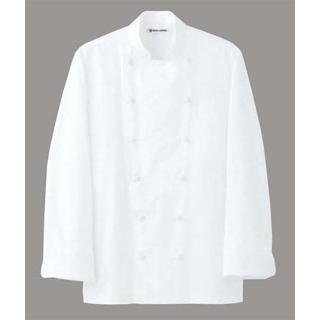 【まとめ買い10個セット品】 【業務用】ドレスコックコート(男女兼用)AA461-3 ホワイト 4L