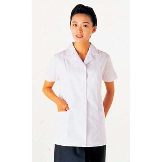 【まとめ買い10個セット品】 【業務用】女性用コート(調理服)AA337-8 17号
