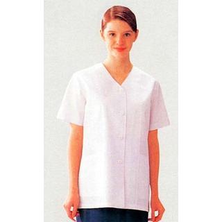 【まとめ買い10個セット品】 【業務用】女性用コート(調理服)AA332-8 11号