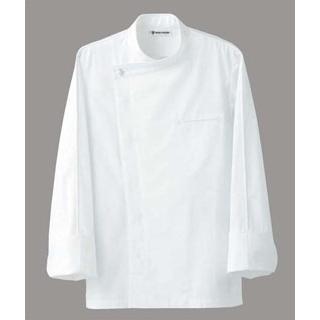 【まとめ買い10個セット品】 【業務用】ドレスコックコート(男女兼用)BA1044-0 ホワイト4L