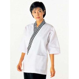 【まとめ買い10個セット品】 【業務用】女性用 ハッピーコート(調理服)BC1341-8 LL
