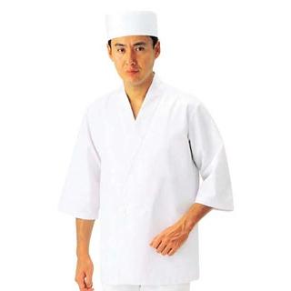 【まとめ買い10個セット品】男性用 ハッピーコート(調理服)BC1350-0 LL【 ユニフォーム 】 【ECJ】