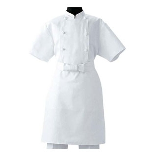 【まとめ買い10個セット品】調理前掛 TT8900-0 ホワイト M【 ユニフォーム 】 【ECJ】