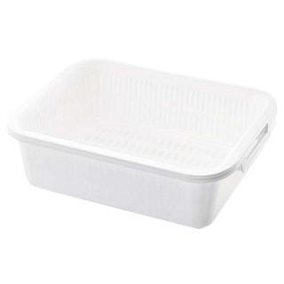 【まとめ買い10個セット品】 【業務用】レイ 水切りセット LL ホワイト