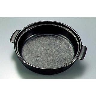 【まとめ買い10個セット品】 【業務用】アルミ 陶板焼皿丈 ミニ 特深型