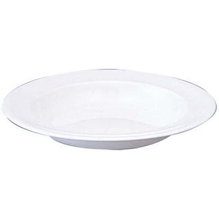 【まとめ買い10個セット品】 【業務用】W・W ホワイトコノート スープ皿 20cm 53610003116