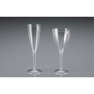 【まとめ買い10個セット品】使い捨てグラス クリア(100本入)シャンパン【 厨房消耗品 】 【ECJ】