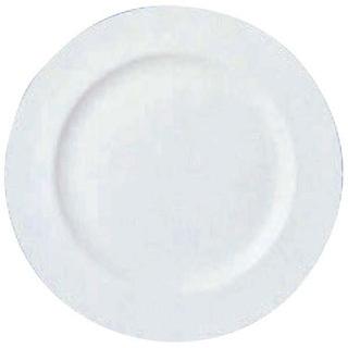【まとめ買い10個セット品】 【業務用】W・W ホワイトコノート フラットプレート 27cm 53610003106