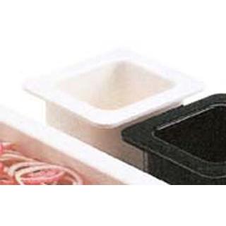 【まとめ買い10個セット品】 【業務用】キャンブロ コールドフェストフードパン1/6-15cm 66CF(148)白