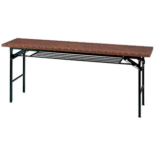 【まとめ買い10個セット品】 【業務用】会議用テーブル ハイタイプ折りたたみ ローズ色 KH1860TR【 メーカー直送/代金引換決済不可 】
