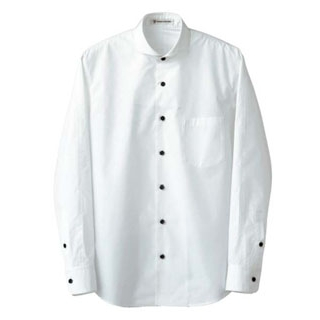 【まとめ買い10個セット品】 【業務用】男性用長袖シャツ CH4426-0 ホワイト L