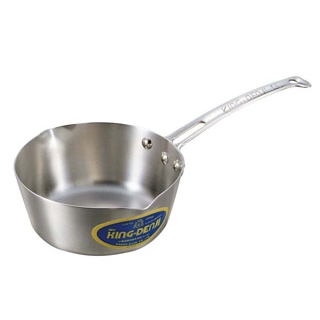 【まとめ買い10個セット品】 【業務用】ニューキングデンジ 雪平鍋(目盛付)21cm