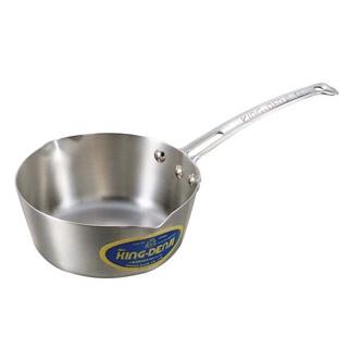 【まとめ買い10個セット品】ニューキングデンジ 雪平鍋(目盛付)27cm【 IH・ガス兼用鍋 】 【ECJ】