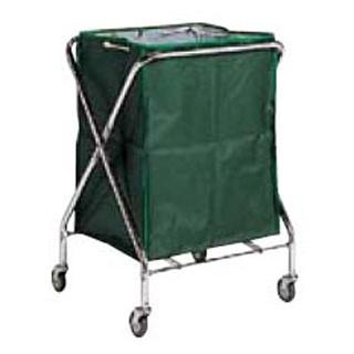 【まとめ買い10個セット品】 【業務用】BM ダストカー 袋付(折りたたみ式)小 緑 132L 【 メーカー直送/代金引換決済不可 】