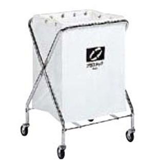 【まとめ買い10個セット品】 【業務用】BM ダストカー 袋付(折りたたみ式)小 白 132L 【 メーカー直送/代金引換決済不可 】